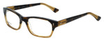 Reptile Designer Reading Glasses Lacerta in Striped-Blonde 53mm