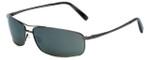 Reptile Designer Polarized Sunglasses King in Gunmetal with Grey Lens