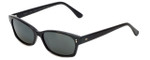 Reptile Designer Polarized Sunglasses Lacerta in Black with Grey Lens