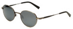 Reptile Designer Polarized Sunglasses Pinzon in Antique-Silver with Flash Mirror Lens