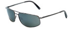 Reptile Designer Polarized Sunglasses Rattler in Gunmetal with Grey Lens