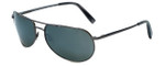 Reptile Designer Polarized Sunglasses Sipedon in Gunmetal with Flash Mirror Lens