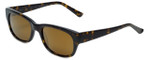 Reptile Designer Polarized Sunglasses Slevin in Tortoise with Gold Mirror Lens