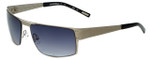 Renoma Designer Sunglasses Robin 1300 in Silver with Grey Gradient Lens