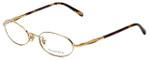 Tiffany Designer Eyeglasses TF1002-6002 in Gold 49mm :: Custom Left & Right Lens