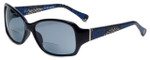 Vera Bradley Designer Bi-Focal Reading Sunglasses Willow in Canterberry Cobalt