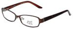 Hilary Duff Designer Eyeglasses Laura in Brown :: Custom Left & Right Lens