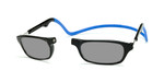 Clic Compact Sunreaders in Black Frame with Blue Headband