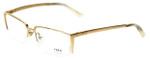 Fred Lunettes Designer Eyeglasses St. Moritz N3-002 in Gold  54mm :: Custom Left & Right Lens