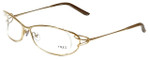 Fred Lunettes Designer Eyeglasses Volute N2-006 in Gold 56mm :: Rx Single Vision