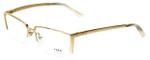 Fred Lunettes Designer Eyeglasses St. Moritz N3-002 in Gold  54mm :: Rx Bi-Focal
