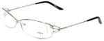 Fred Lunettes Designer Eyeglasses Volute N1-002 in Silver 53mm :: Rx Bi-Focal