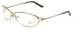 Fred Lunettes Designer Eyeglasses Volute N2-006 in Gold 56mm :: Rx Bi-Focal