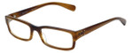 Paul Smith Designer Eyeglasses PS411-SYC in Brown-Horn 52mm :: Custom Left & Right Lens