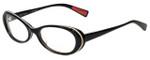 Paul Smith Designer Eyeglasses PS415-BAK in Black 51mm :: Custom Left & Right Lens