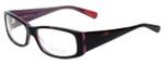 Paul Smith Designer Eyeglasses PS416-BHPL in Black-Horn 53mm :: Custom Left & Right Lens
