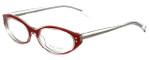 Paul Smith Designer Eyeglasses PS430-CRYCD in Crystal-Red 51mm :: Custom Left & Right Lens
