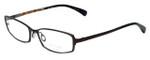 Paul Smith Designer Eyeglasses PS1016-MRN in Brown 52mm :: Custom Left & Right Lens