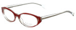 Paul Smith Designer Eyeglasses PS430-CRYCD in Crystal-Red 51mm :: Rx Single Vision
