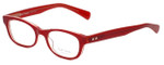 Paul Smith Designer Eyeglasses PS432-MALR in Red 48mm :: Rx Single Vision
