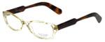 Paul Smith Designer Eyeglasses PS297-BECRDM in Crystal-Yellow 52mm :: Progressive