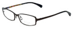Paul Smith Designer Eyeglasses PS1016-MRN in Brown 52mm :: Progressive