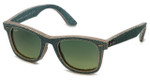 Ray-Ban 2140 1166/3M Designer Sunglasses Classic Wayfarer Special Edition Denim Color