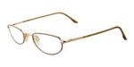 Marcolin Designer Eyeglasses 7215-507 in Gold :: Custom Left & Right Lens