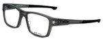 Oakley Designer Eyeglasses Splinter OX8077-0252 in Satin-Grey-Smoke 52mm :: Rx Bi-Focal
