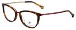 Carolina Herrera Designer Eyeglasses VHE094K-0SAH in Tortoise 52mm :: Custom Left & Right Lens