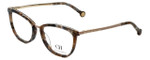 Carolina Herrera Designer Eyeglasses VHE094K-0323 in Brown-Pattern 52mm :: Rx Single Vision