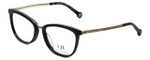 Carolina Herrera Designer Eyeglasses VHE094K-0F47 in Black 52mm :: Rx Single Vision