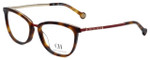 Carolina Herrera Designer Eyeglasses VHE094K-0SAH in Tortoise 52mm :: Rx Single Vision