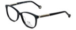 Carolina Herrera Designer Eyeglasses VHE734K-700Y in Black 50mm :: Rx Single Vision