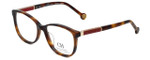 Carolina Herrera Designer Eyeglasses VHE734K-752Y in Tortoise 50mm :: Rx Single Vision