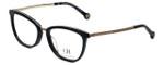 Carolina Herrera Designer Eyeglasses VHE094K-0F47 in Black 52mm :: Rx Bi-Focal