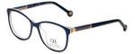 Carolina Herrera Designer Eyeglasses VHE734K-09MF in Blue 50mm :: Rx Bi-Focal