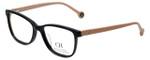 Carolina Herrera Designer Reading Glasses VHE719K-700Y in Black 50mm