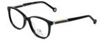 Carolina Herrera Designer Reading Glasses VHE734K-700Y in Black 50mm
