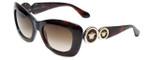 Versace VE4328-521213 Designer Sunglasses in Tortoise with Gradient Brown Lens