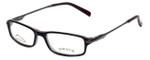 Orvis Designer Eyeglasses Voyager in Black 49mm :: Custom Left & Right Lens
