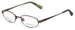 Orvis Designer Eyeglasses Compass in Brown 49mm :: Rx Single Vision