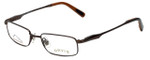 Orvis Designer Eyeglasses Crossing in Brown 47mm :: Progressive