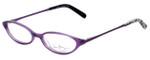 Vera Bradley Designer Eyeglasses Nicole-PPP in Purple-Punch 47mm :: Custom Left & Right Lens
