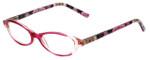Vera Bradley Designer Eyeglasses Suzanne-OPK in Olivia-Pink 49mm :: Custom Left & Right Lens