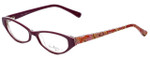 Vera Bradley Designer Eyeglasses Isabella-RFZ in Raspberry-Fizz 51mm :: Rx Single Vision