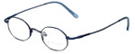 John Lennon Designer Eyeglasses JLC101-Blue in Blue 43mm :: Custom Left & Right Lens