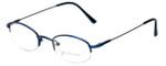 John Lennon Designer Eyeglasses JLC105-Blue in Blue 45mm :: Custom Left & Right Lens