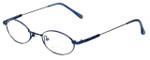 John Lennon Designer Reading Glasses JL265F-057 in Blue 47mm