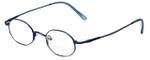 John Lennon Designer Reading Glasses JLC101-Blue in Blue 43mm
